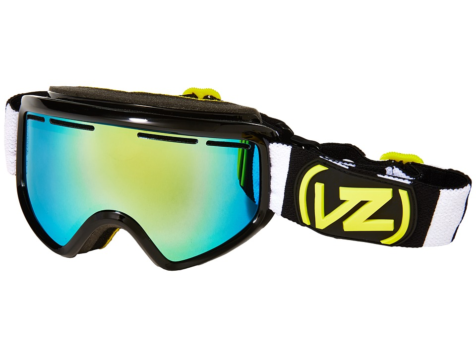VonZipper - Trike (Black Gloss/Gold Chrome) Snow Goggles