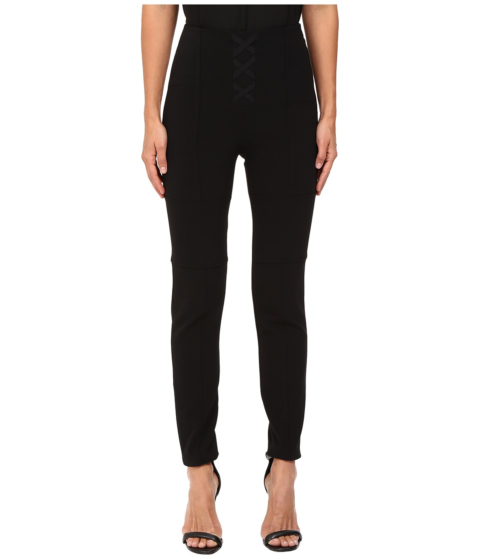 Neil Barrett - Super Skinny Stretch Pants (Black) Women's Casual Pants