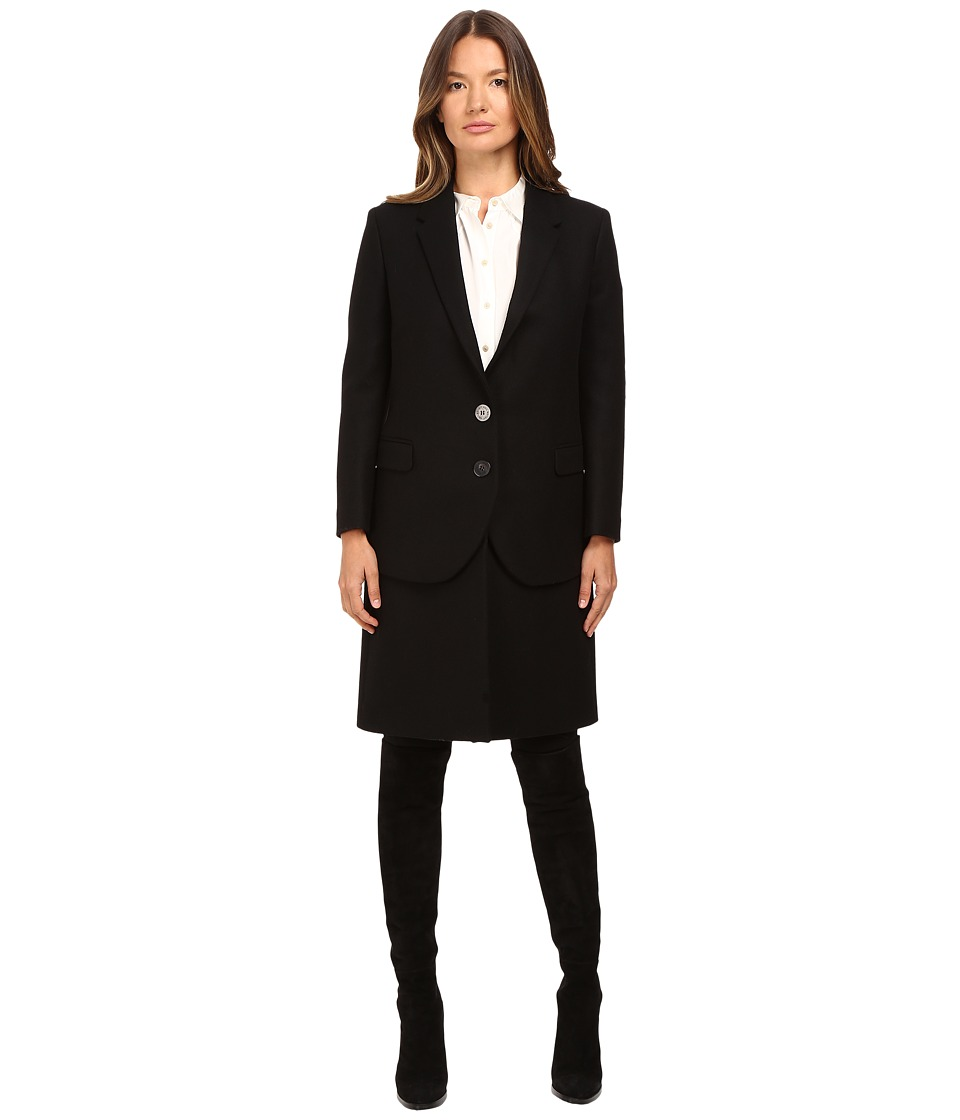 Neil Barrett - Hybrid Short Double Layered Jacket (Black) Women's Coat