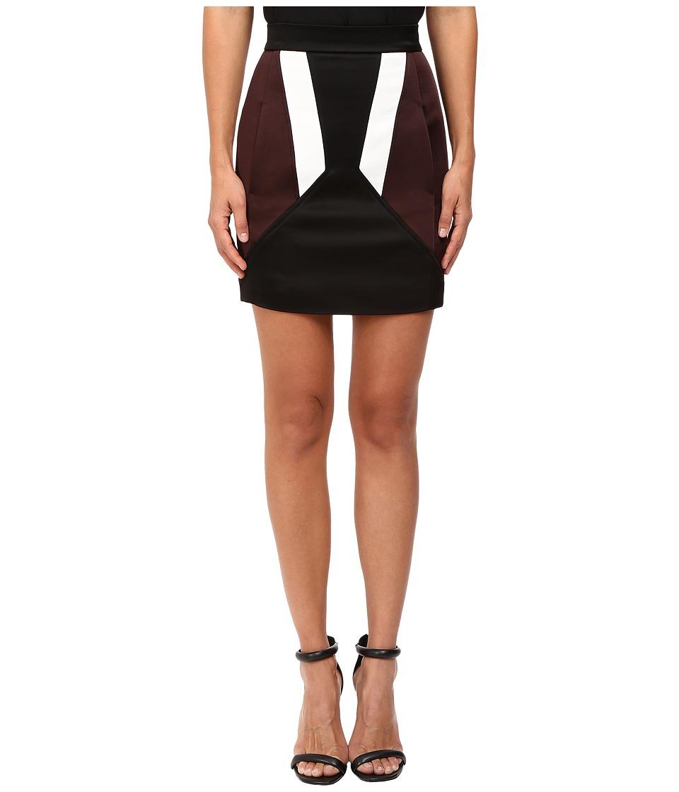 Neil Barrett - Modernist Pencil Skirt (Black) Women's Skirt