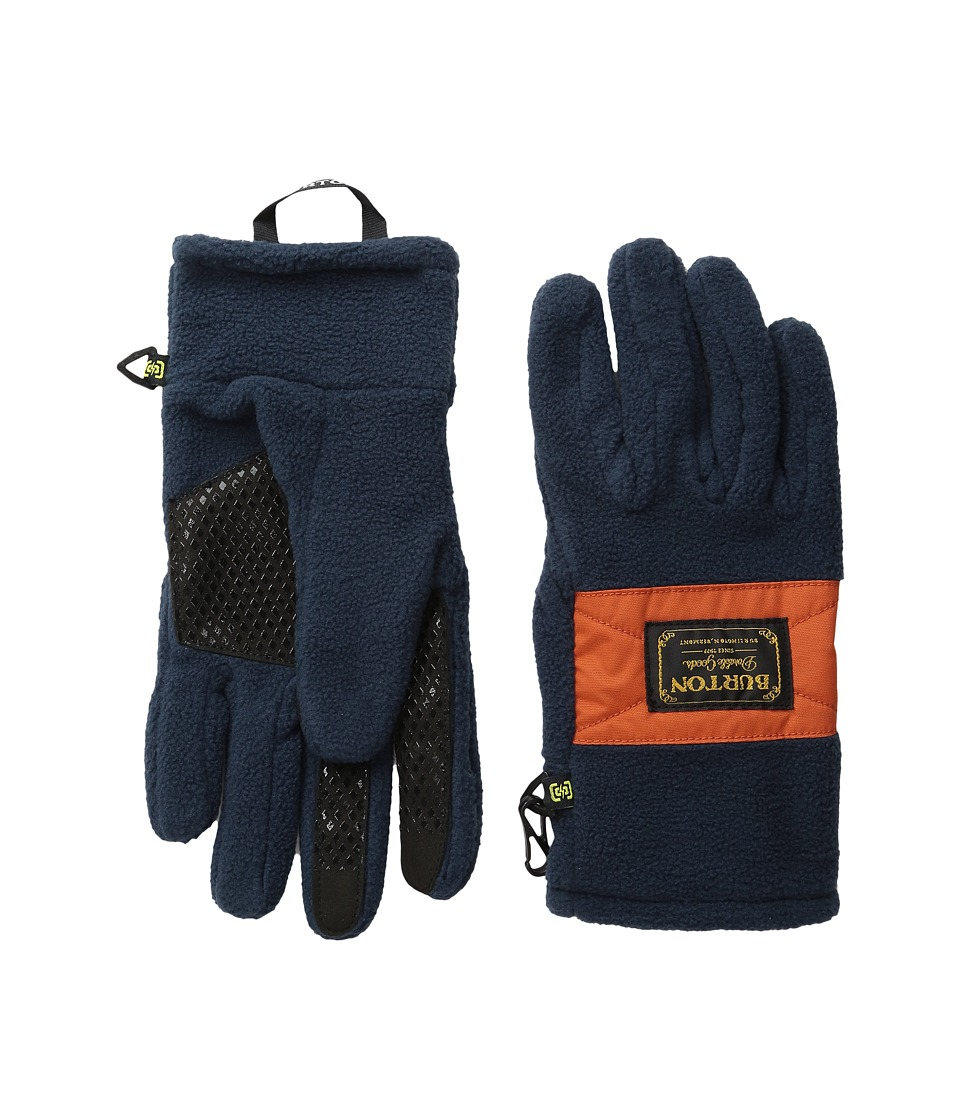 Burton - Ember Fleece Glove (Eclipse/Picante) Extreme Cold Weather Gloves