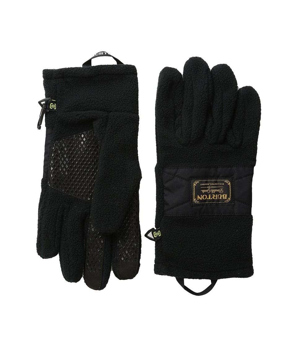 Burton - Ember Fleece Glove (True Black) Extreme Cold Weather Gloves
