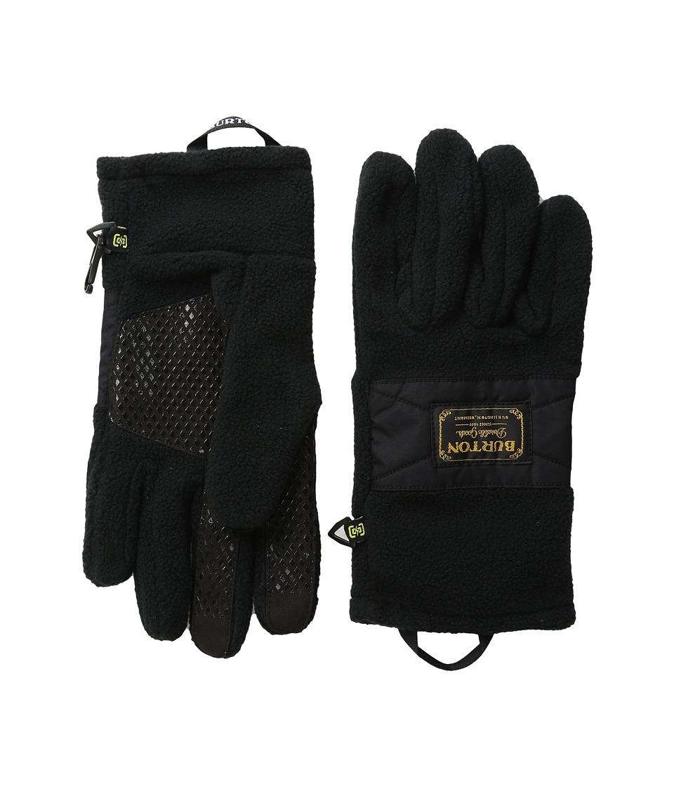 Burton - Ember Fleece Glove (True Black) Extreme Cold Weather Gloves