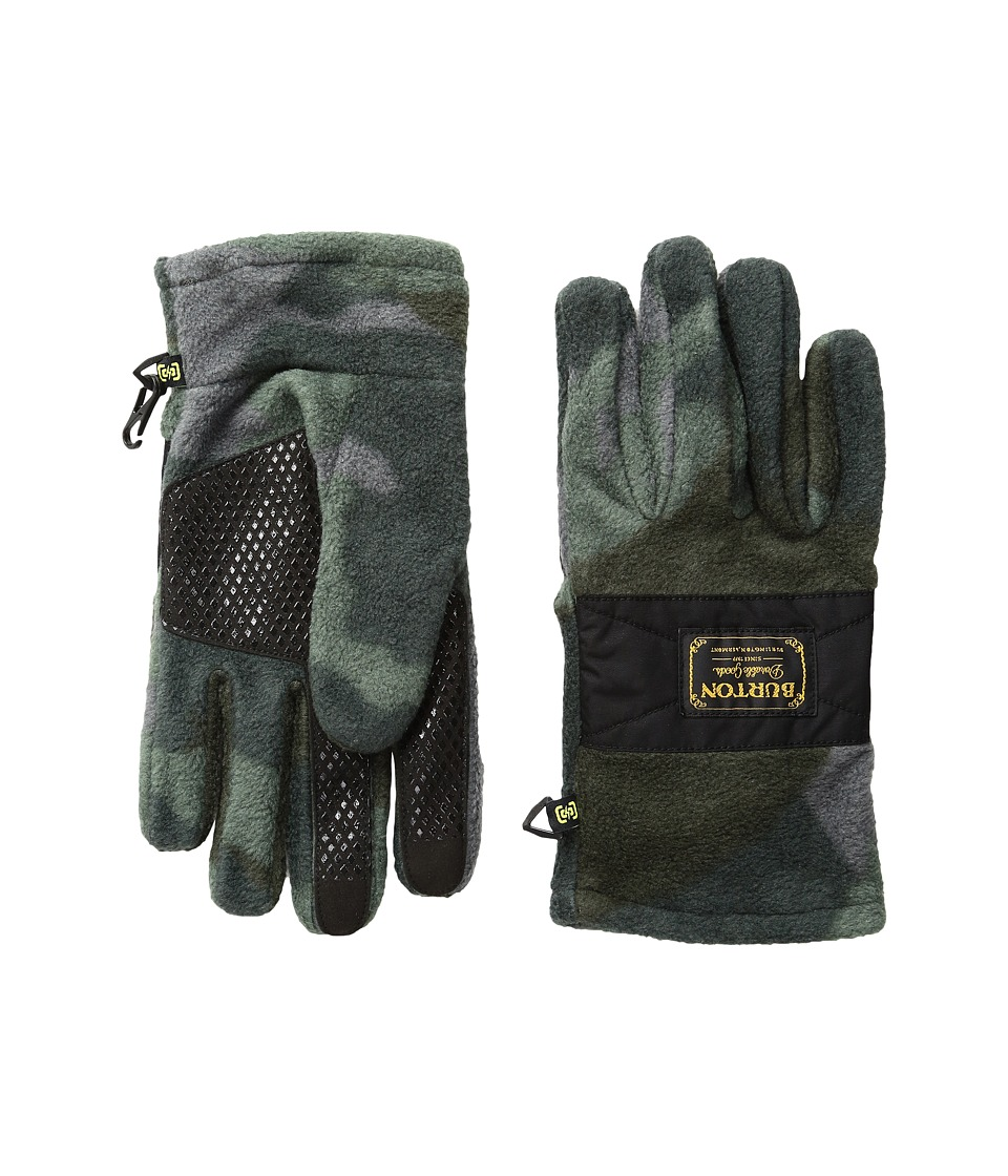 Burton Ember Fleece Glove (Beetle Derby Camo) Extreme Cold Weather Gloves