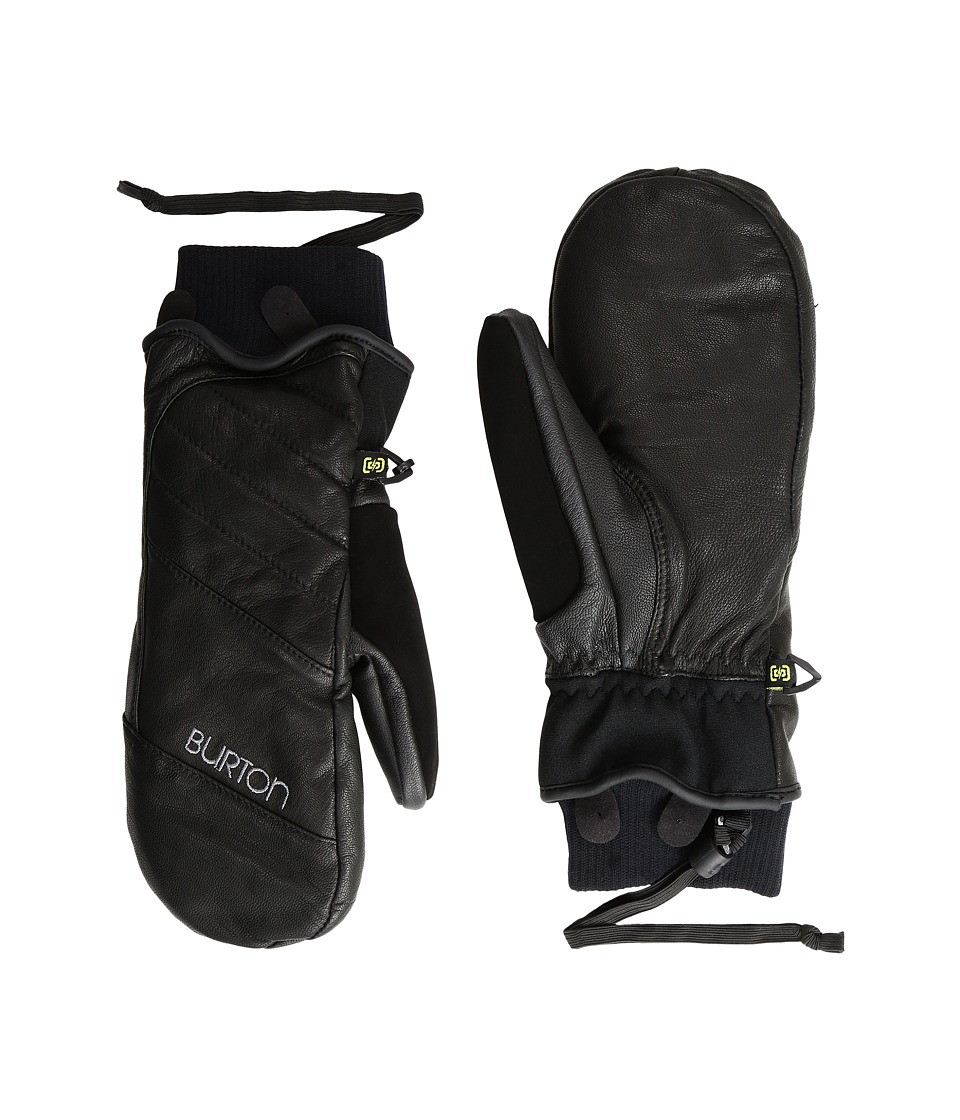 Burton - Favorite Leather Mitt (True Black 3) Snowboard Gloves