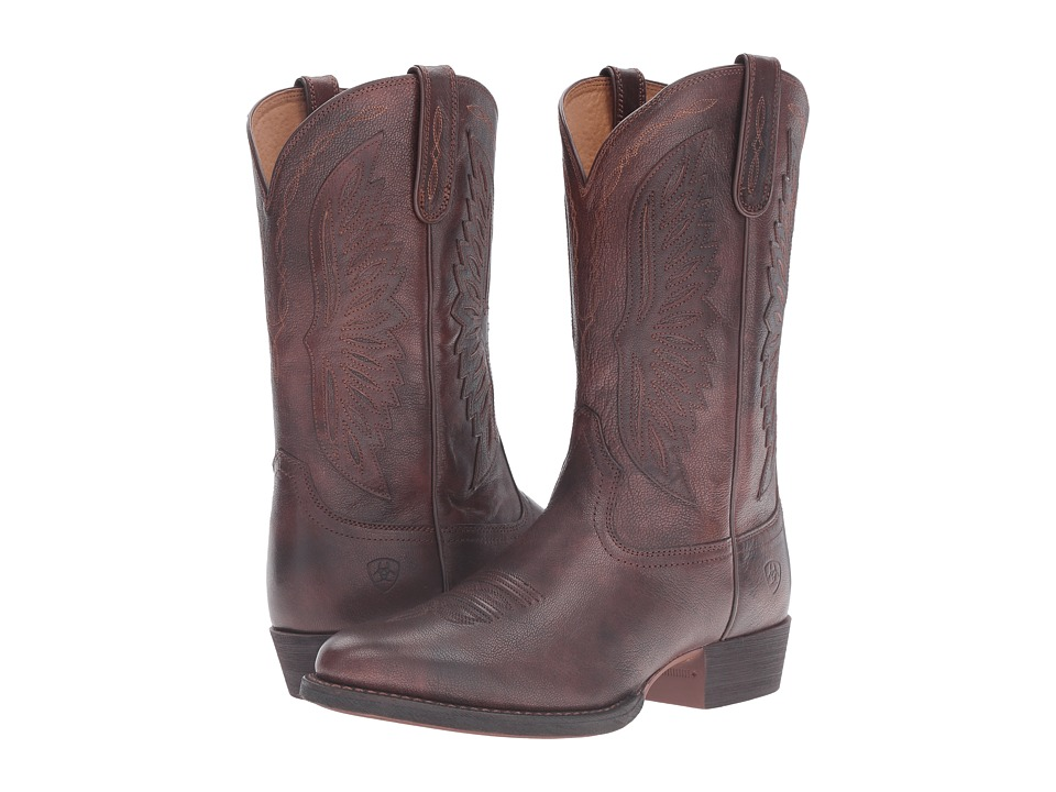 Ariat Throwdown (Decadent Chocolate) Cowboy Boots