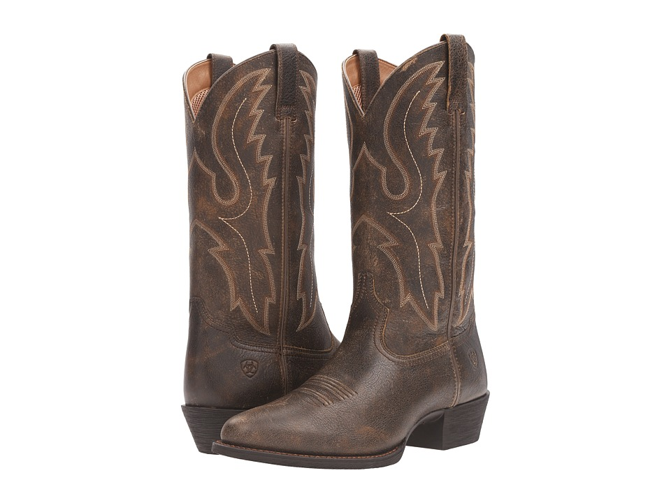 Ariat - Sport R Toe (Brooklyn Brown) Cowboy Boots