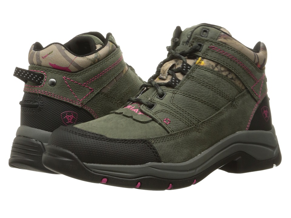 Ariat Terrain Pro (Shadow/Pink Hot Leaf) Women