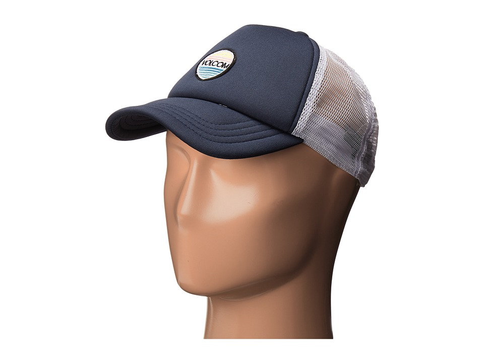 Volcom - Friyay Trucker Hat (Dark Navy) Caps