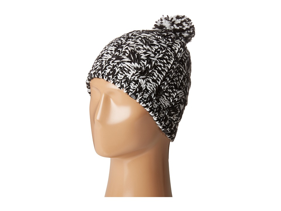 Volcom - Easy Knit Beanie (Black/White) Beanies