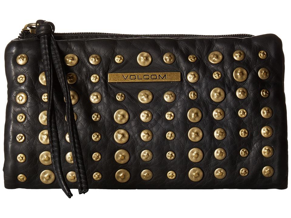 Volcom - What A Stud Wallet (Black) Wallet Handbags