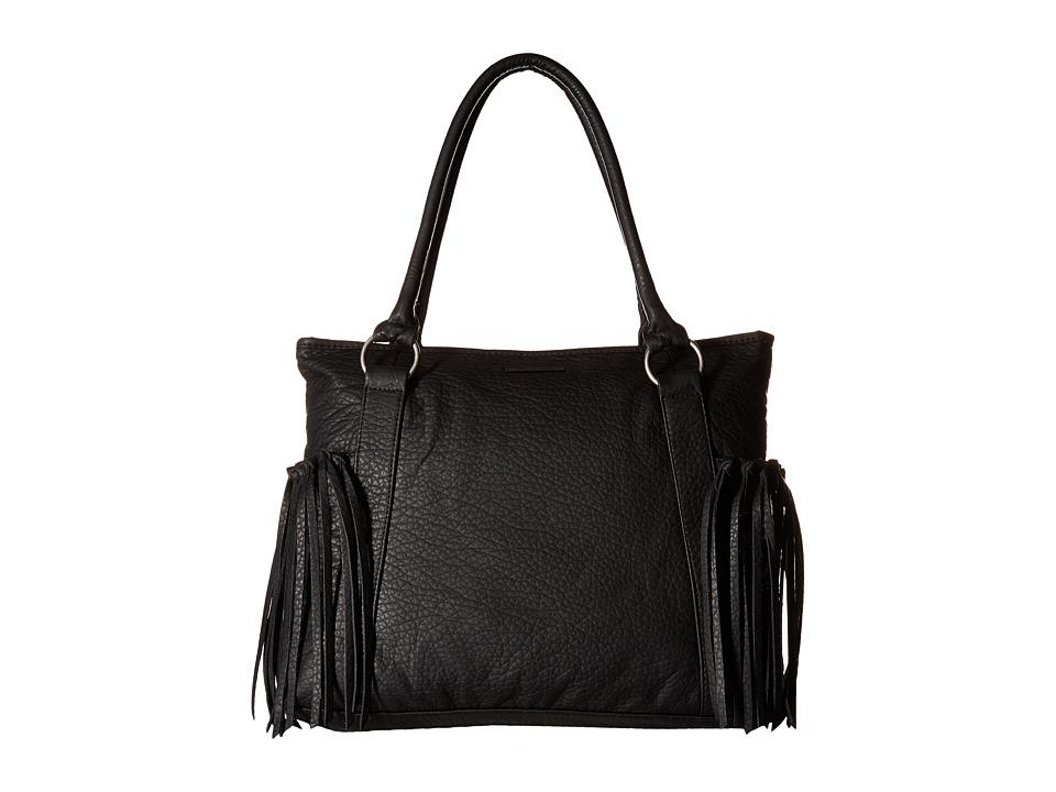 Volcom - Funky Fringe Bag (Black) Handbags