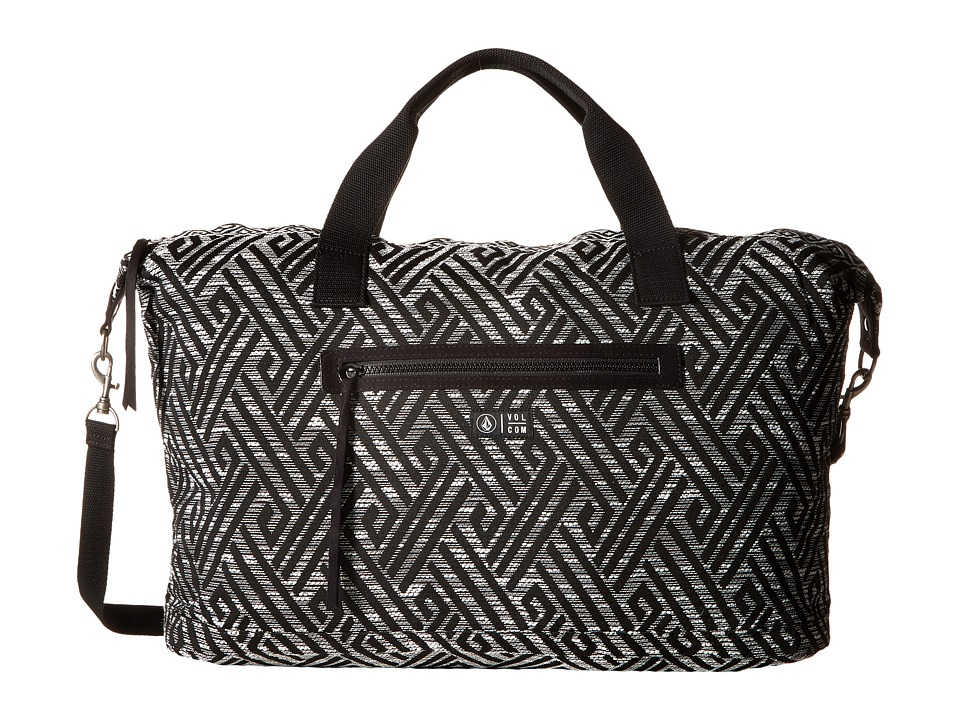 Volcom - Outta Towner Weekender (Black) Handbags