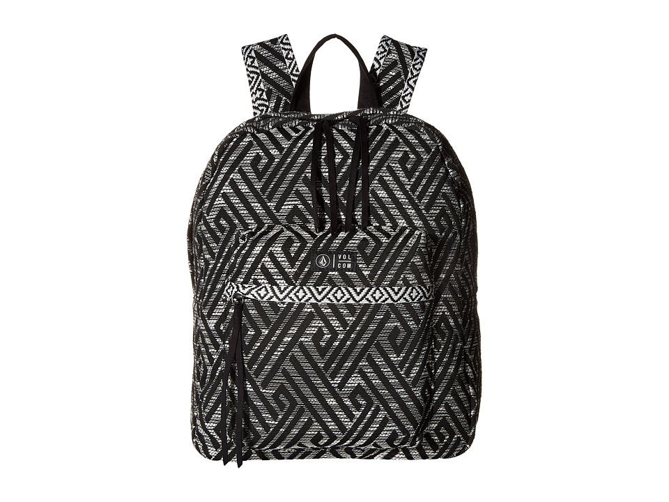 Volcom - Outta Towner Backpack (Black) Backpack Bags