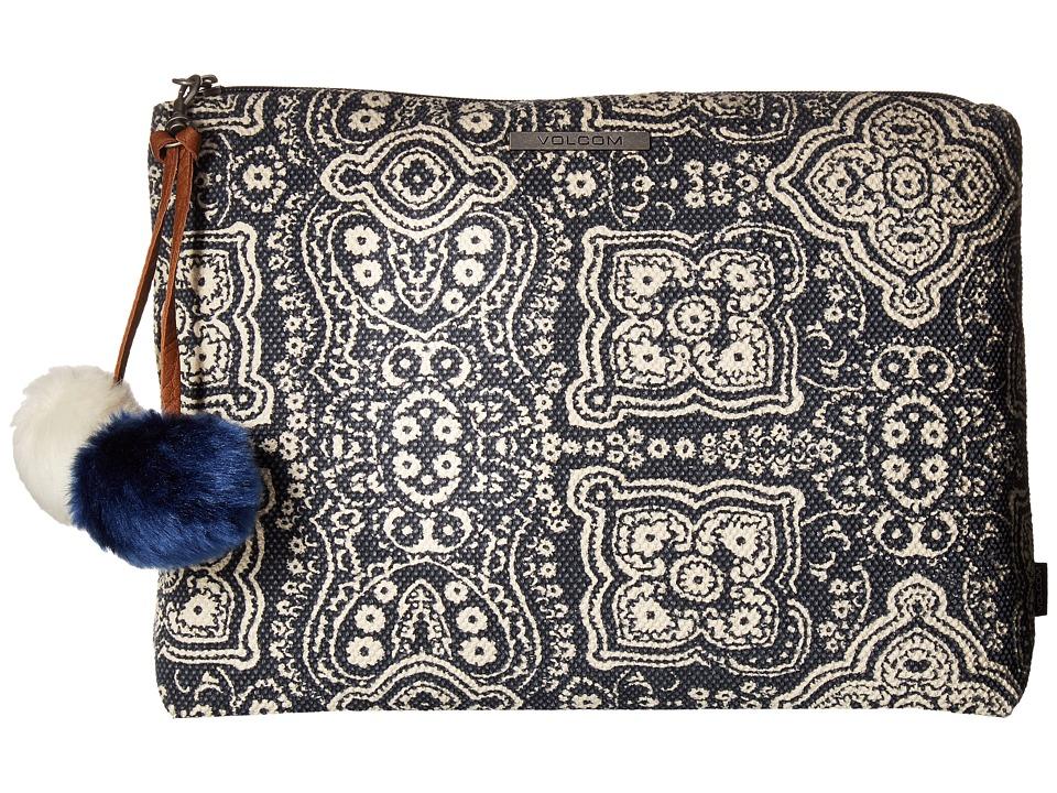 Volcom - Furever Pouch (Dark Navy) Handbags