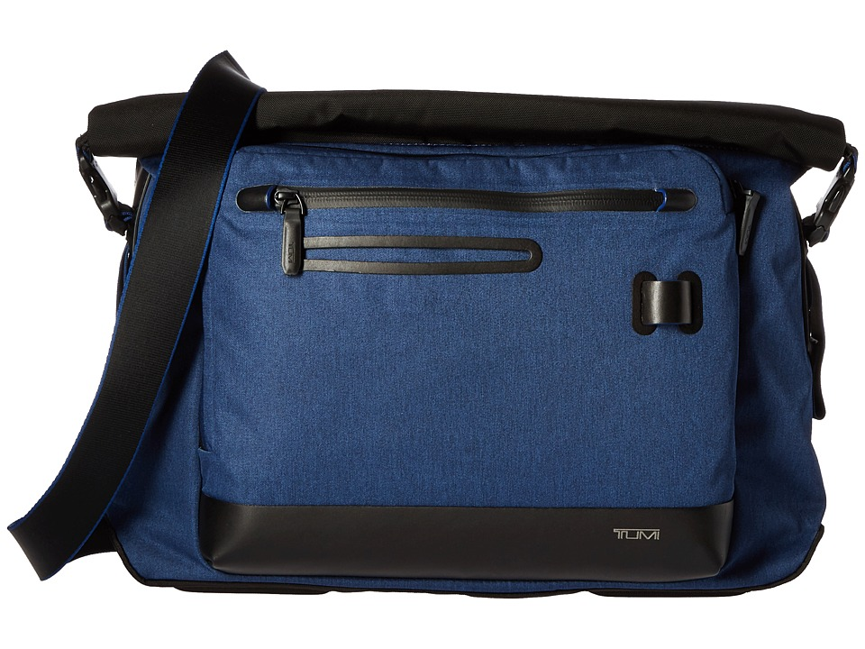 Tumi - Tahoe - Marino Roll Top Messenger (Blue) Messenger Bags