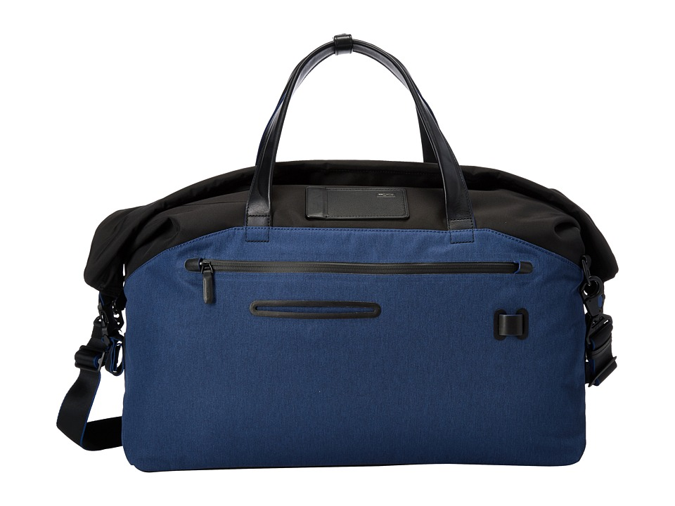 Tumi - Tahoe - Regency Roll Top Weekender (Blue) Weekender/Overnight Luggage