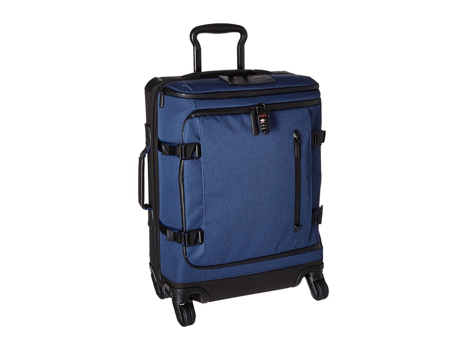 Tumi - Tahoe - Edgewood Continental 4 Wheel Carry-On (Blue) Carry on Luggage