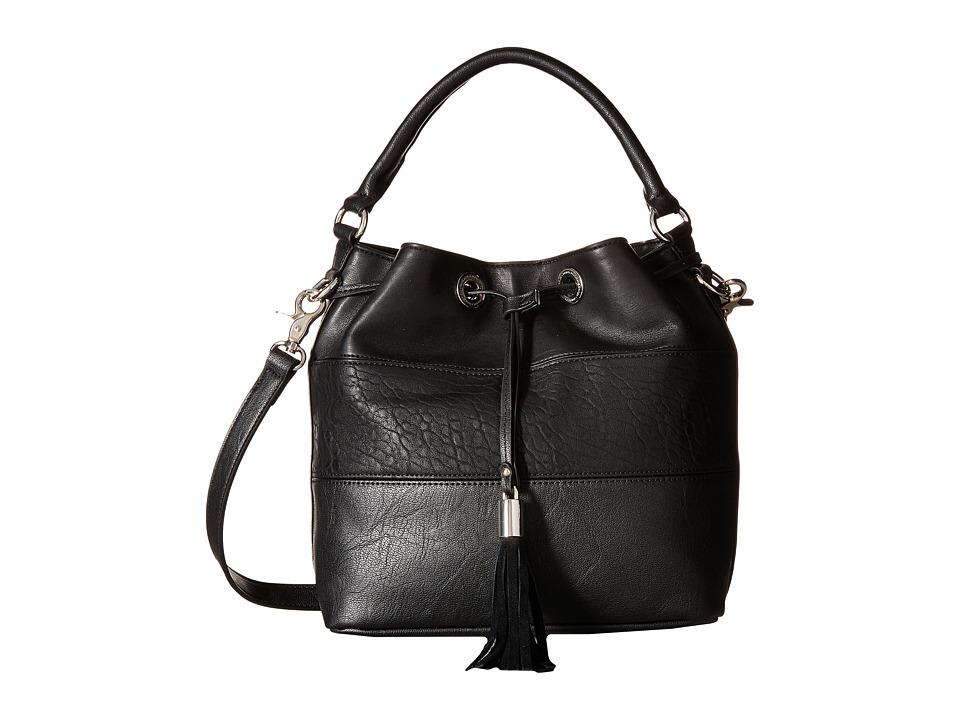 French Connection - Jill Drawstring (Black) Drawstring Handbags