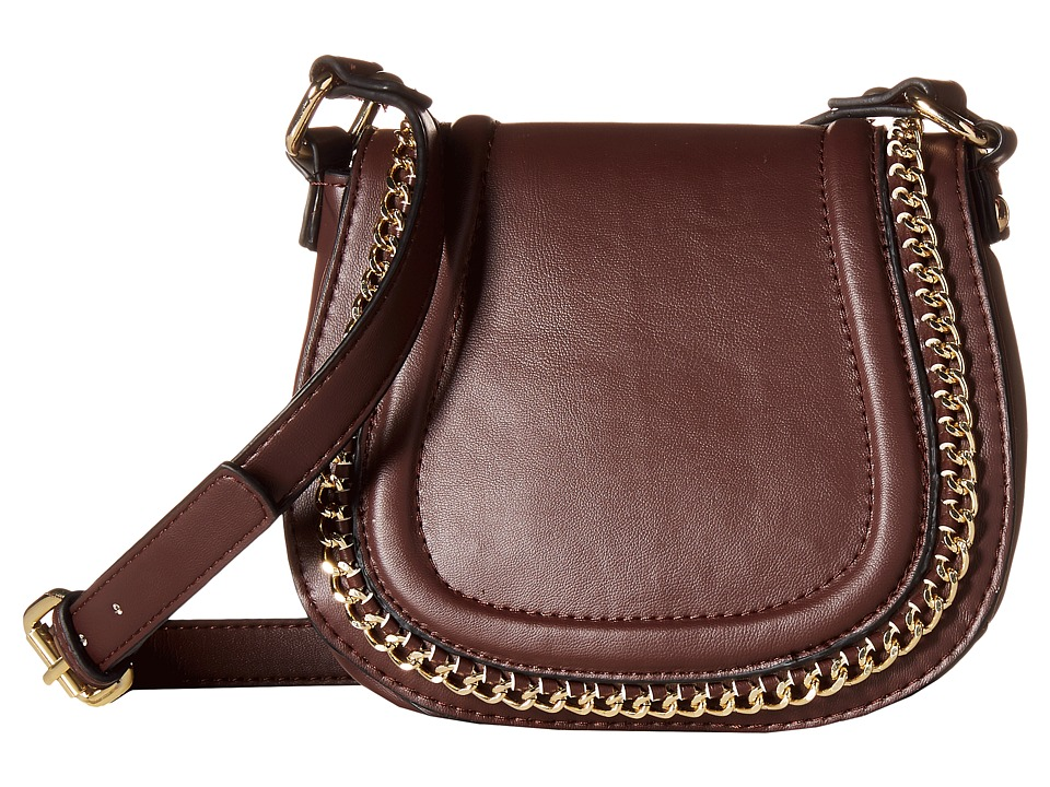 French Connection - Alexa Saddle Bag (Coffee Bean) Cross Body Handbags