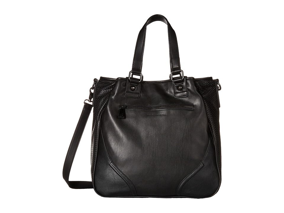 French Connection - Brett Tote (Black) Tote Handbags