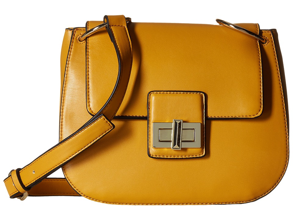 French Connection - Fiona Saddle Bag (Sudan Sun) Cross Body Handbags