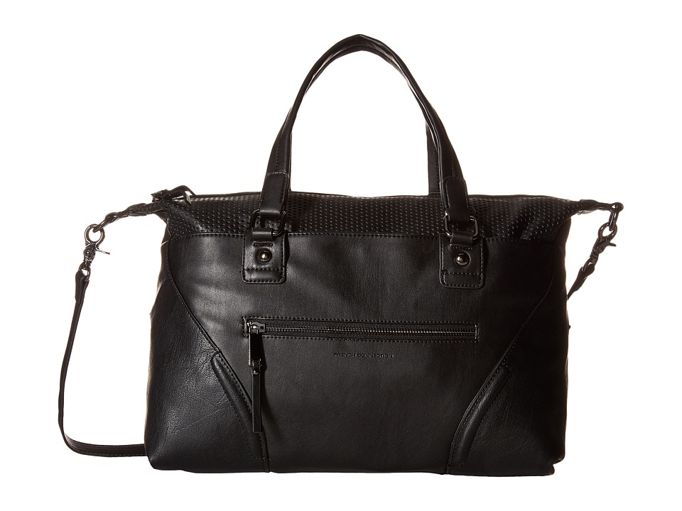 French Connection - Brett Satchel (Black) Satchel Handbags
