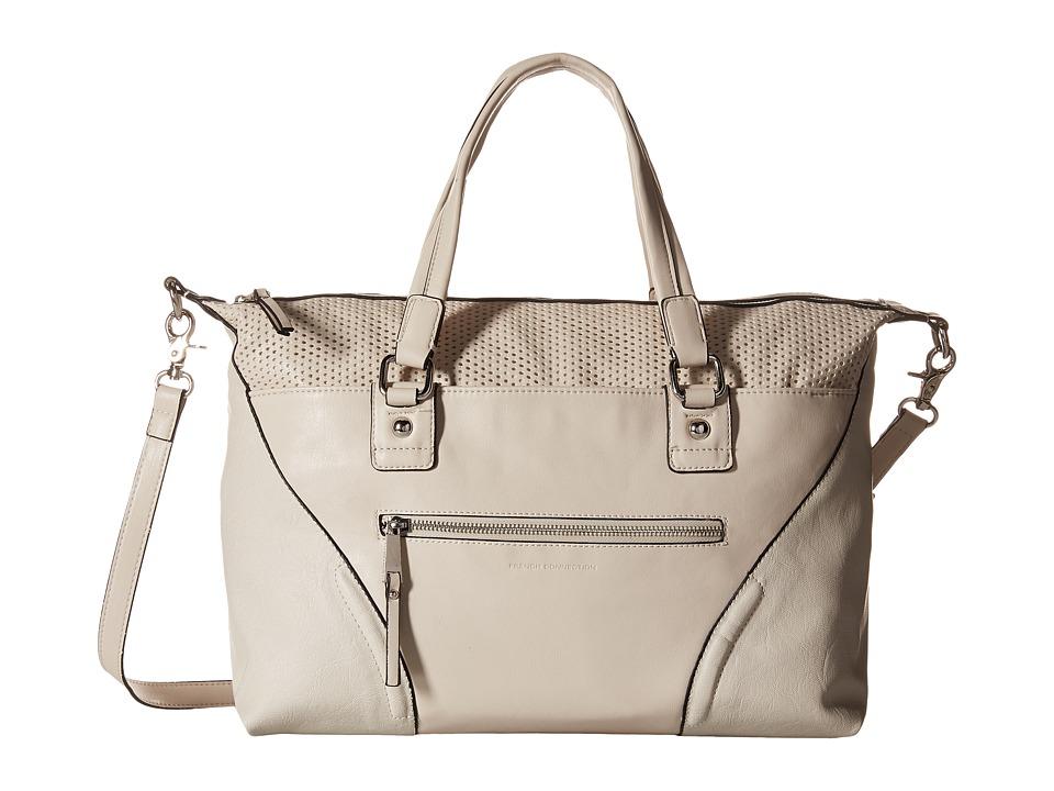 French Connection - Brett Satchel (African Stone) Satchel Handbags