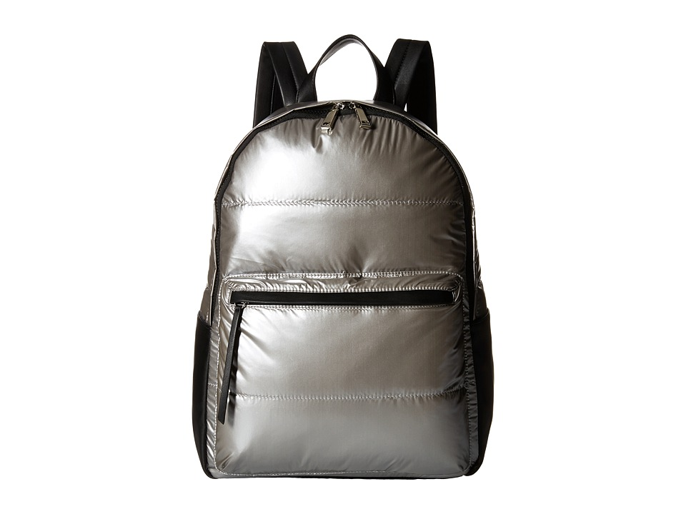 French Connection - Gia Backpack (Silver) Backpack Bags