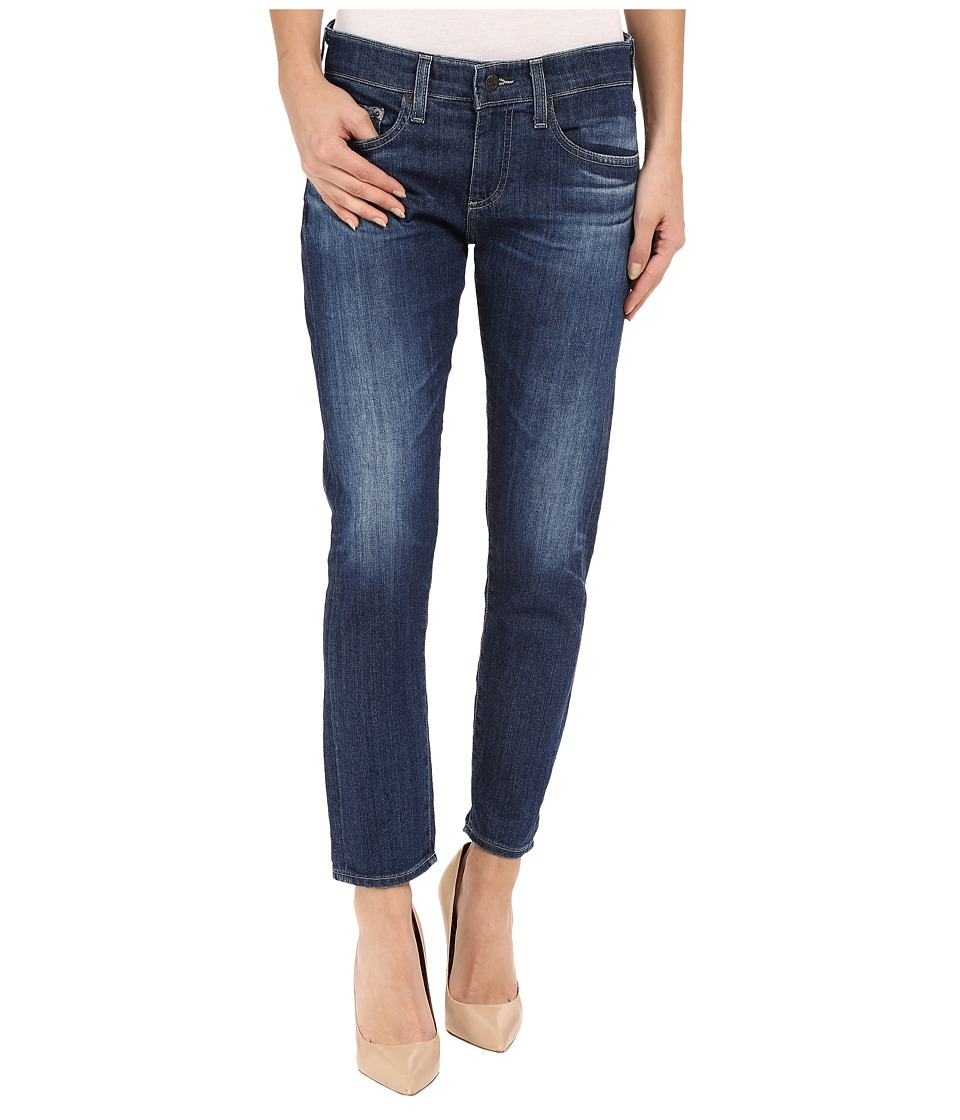 AG Adriano Goldschmied - The Nikki Crop in 4 Years Tide (4 Years Tide) Women's Jeans