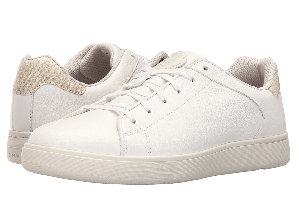 Paul Smith - Cemented Rubber Sneaker (White) Women's Shoes