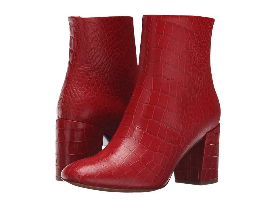 Paul Smith Sinah Lux Cocco Boot (Red) Women