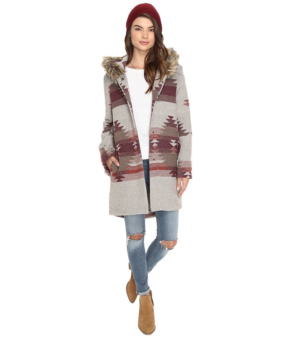 BB Dakota - Dalley Coat (Light Heather Grey) Women's Coat