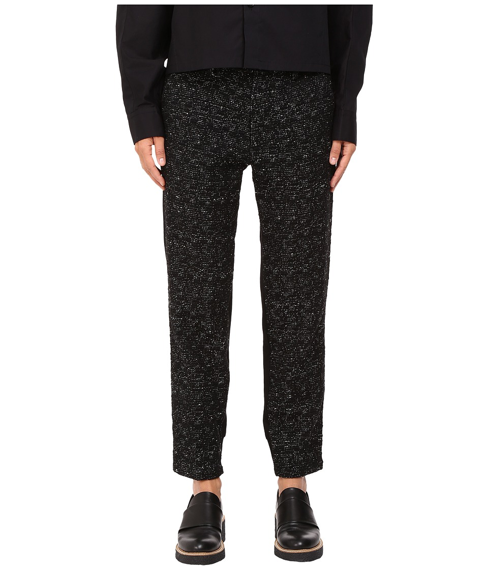 Y's by Yohji Yamamoto - Back Pants (Black) Women's Casual Pants