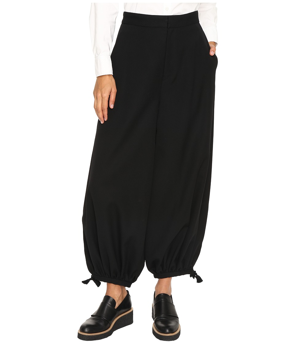 Y's by Yohji Yamamoto - Harem Pants (Black) Women's Casual Pants