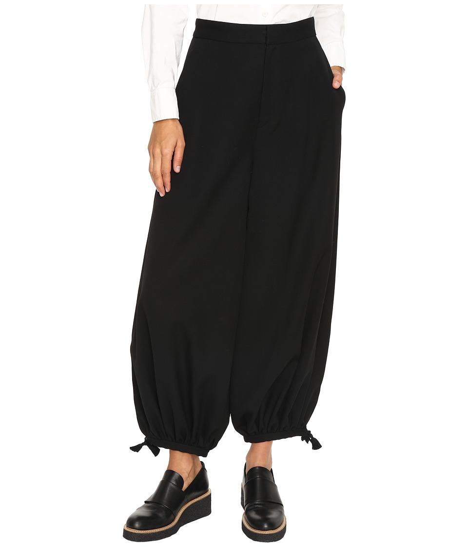 Y's by Yohji Yamamoto - Harem Pants (Black) Women's Casual Pants