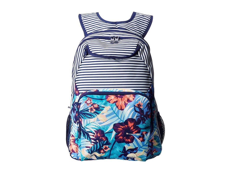 Roxy - Shadow Swell Backpack (Norfolk Tropical Diamond Blue) Backpack Bags