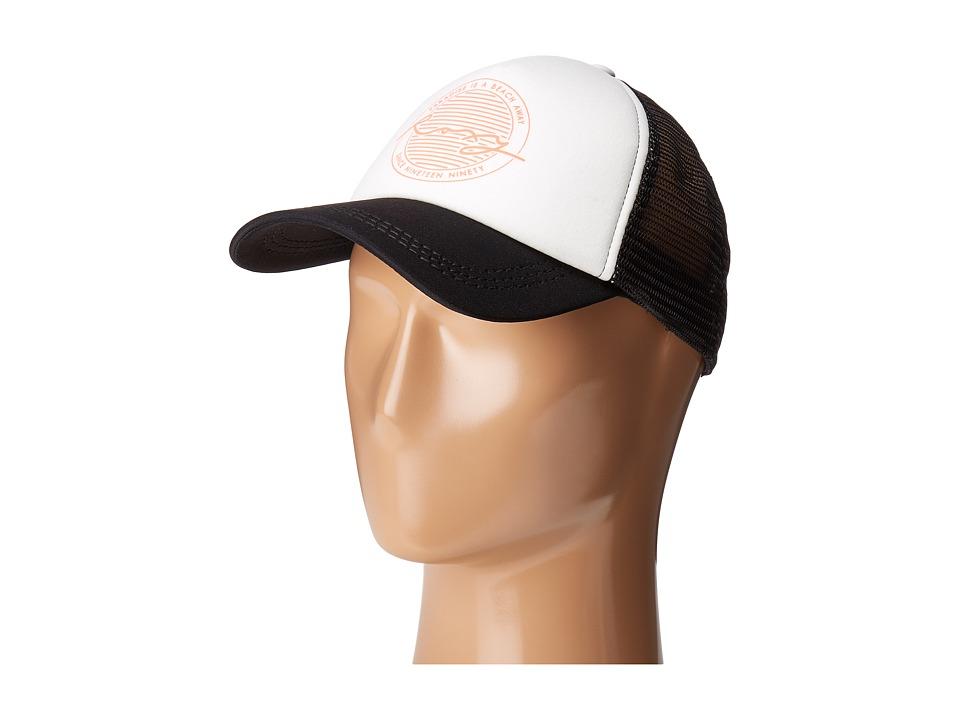 Roxy - Truckin Trucker Hat (Pristine) Caps