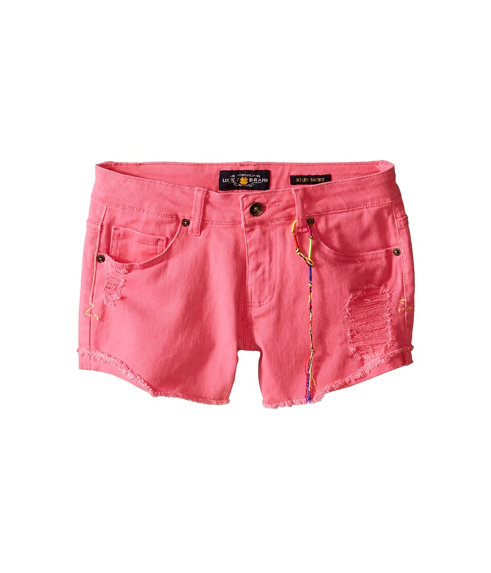 Lucky Brand Kids - High Roller Riely Denim Shorts (Big Kids) (Axl Rose) Girl's Shorts