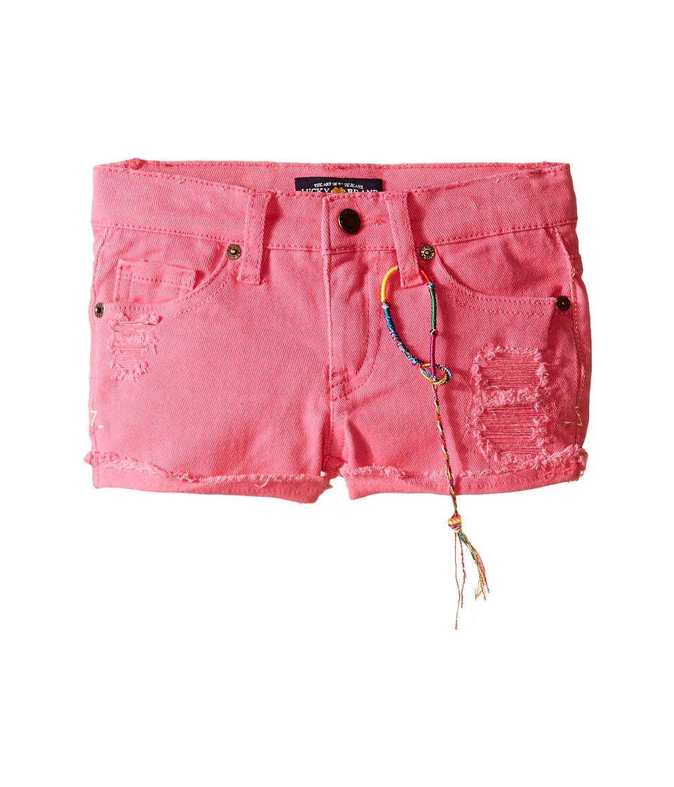 Lucky Brand Kids - High Roller Riely Denim Shorts (Toddler) (Axl Rose) Girl's Shorts