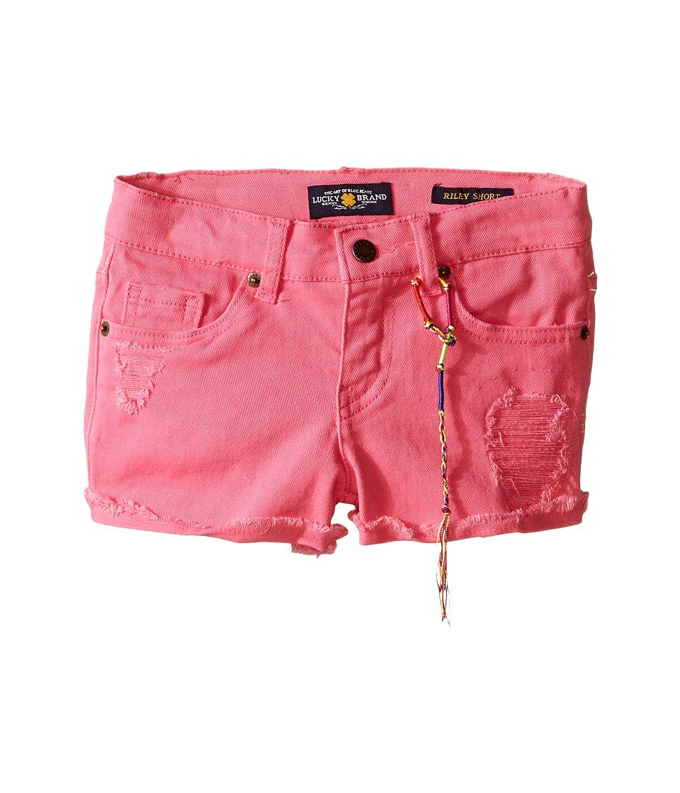 Lucky Brand Kids - High Roller Riely Denim Shorts (Little Kids) (Axl Rose) Girl