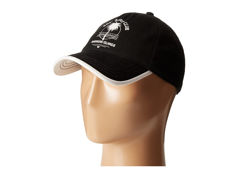Roxy - Next Level Baseball Cap (True Black) Baseball Caps