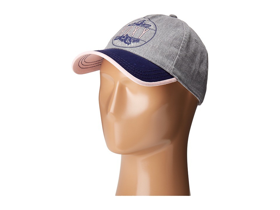 Roxy - Next Level Baseball Cap (Heritage Heather) Baseball Caps