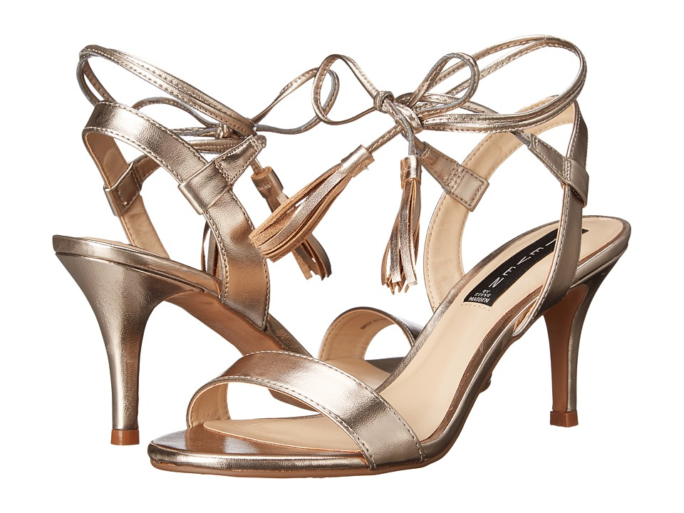 Steven - Valen (Gold Metallic) Women's 1-2 inch heel Shoes
