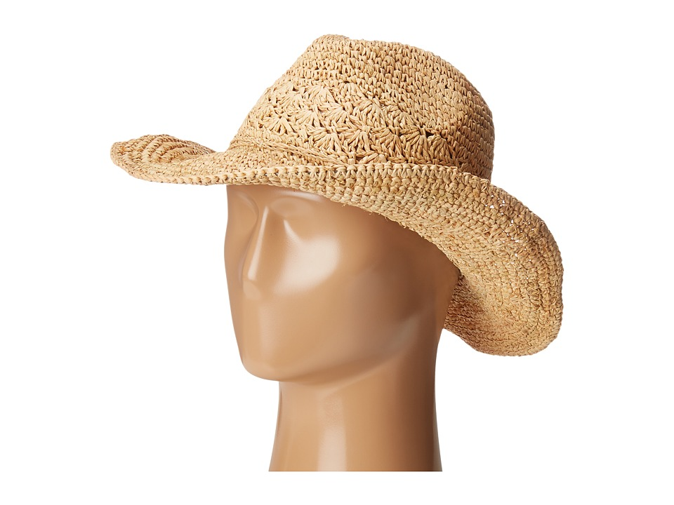 Roxy - Cantina Fedora Hat (Natural) Fedora Hats