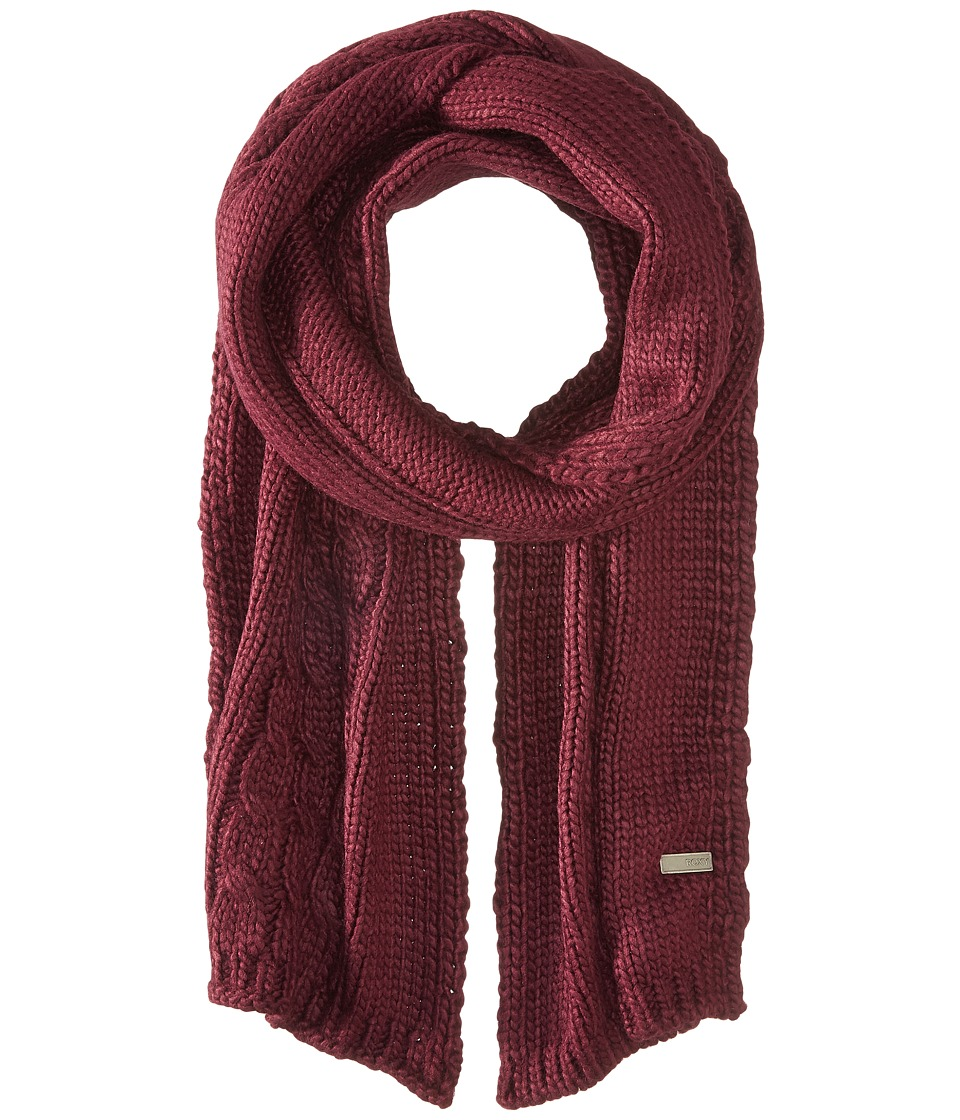 Roxy - Winter Lov Scarf (Potent Purple) Scarves