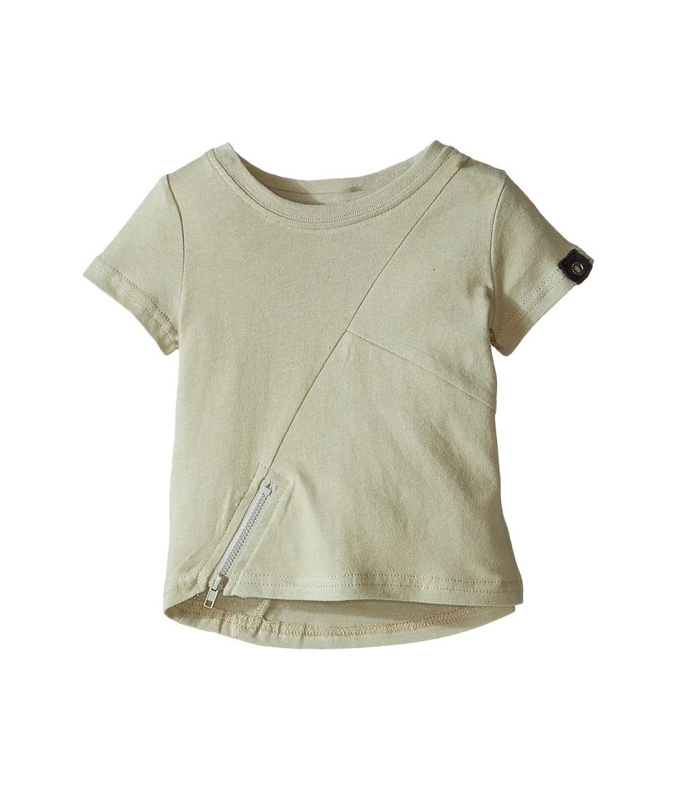 Kardashian Kids - Tee with Zip Detail (Infant) (Green) Boy's T Shirt