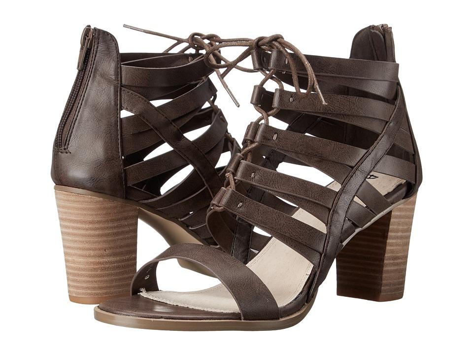 A.S.N.Y. - Julissa (Dark Brown) Women's Dress Sandals