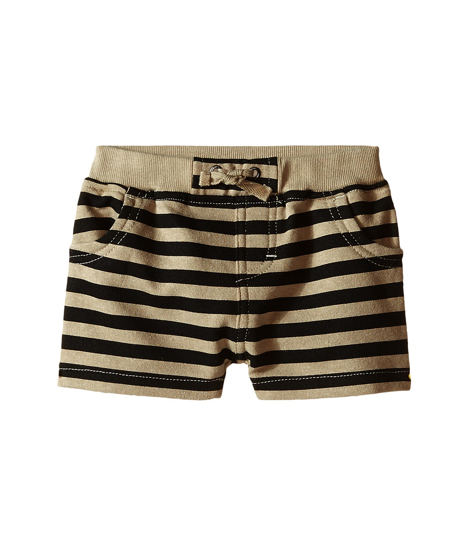 Kardashian Kids - Knit Stripe Shorts (Infant) (Green/Black) Boy's Shorts