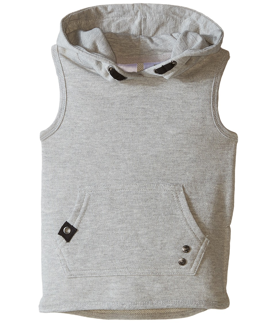 Kardashian Kids - Long Line Sweat Top (Infant) (Grey) Boy's Sleeveless